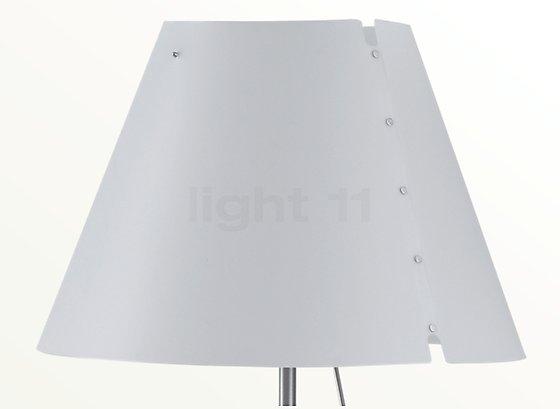 Lampadaire luceplan costanza terra aluminium télescopique avec
