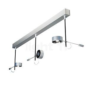 Absolut Lighting Absolut Ceiling Light 3 lamps LED chrome matt