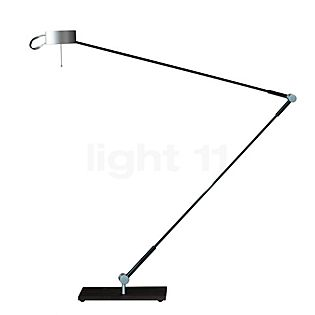 Absolut Lighting Absolut Lampada da scrivania LED cromo opaco
