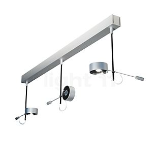 Absolut Lighting Absolut Plafondlamp 3-lichts LED chroom mat