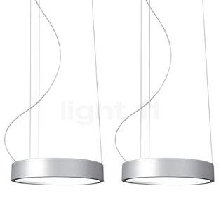 Absolut Lighting Aluring Pendant Light 2 lamps LED chrome glossy