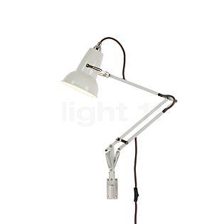 Anglepoise Original 1227 Mini Wall Light with bracket white linen