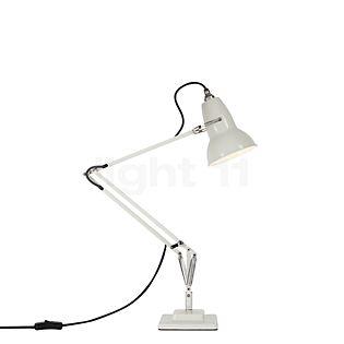 Anglepoise Original 1227 Skrivebordslampe hvid linned / grå kabel