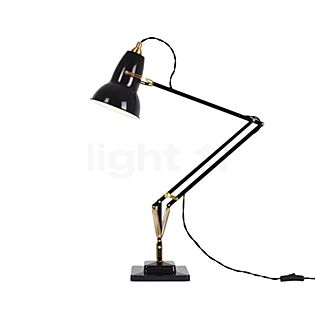 Anglepoise Original 1227 messing Skrivebordslampe sort