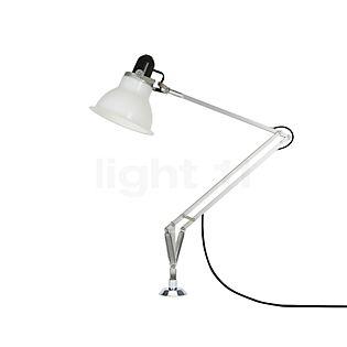 Anglepoise Type 1228, lámpara de escritorio con fijación atornillada blanco hielo