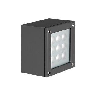 Ares Paolina Wandleuchte LED anthrazit, 3.000 K