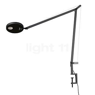 Artemide Demetra Tavolo with Clamp anthracite grey, 3,000 K