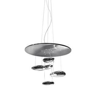 Artemide Mercury Mini Sospensione LED cromo lucido, 2.700 K