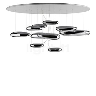 Artemide Mercury Soffitto LED chroom, 3.000 K