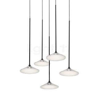 Artemide Orsa Kronleuchter 5-flammig LED weiß