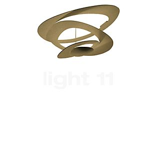 Artemide Pirce Mini Soffitto LED dorato, 3.000 K