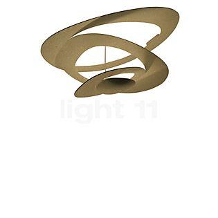 Artemide Pirce Soffitto LED dorato, 3.000 K