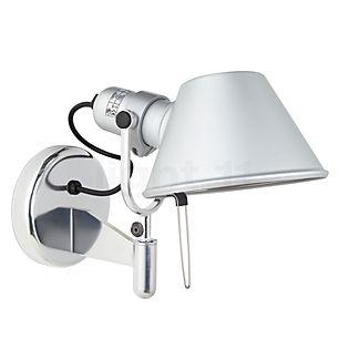 Artemide Tolomeo Faretto LED mit Schalter Aluminium poliert & eloxiert, 2.700 K