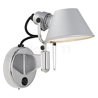Artemide Tolomeo Micro Faretto LED met schakelaar aluminium gepolijst en geanodiseerd, 2.700 K