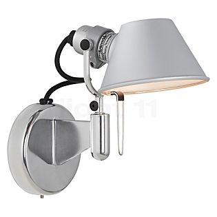 Artemide Tolomeo Micro Faretto LED ohne Schalter Aluminium poliert & eloxiert, 3.000 K