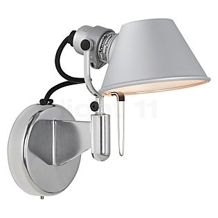 Artemide Tolomeo Micro Faretto LED sin interruptor aluminio pulido y anodizado, 3.000 K