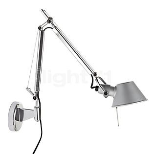Artemide Tolomeo Micro Parete polished and anodised aluminium