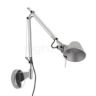 Artemide Tolomeo Micro Parete LED polished and anodised aluminium, 3,000 K