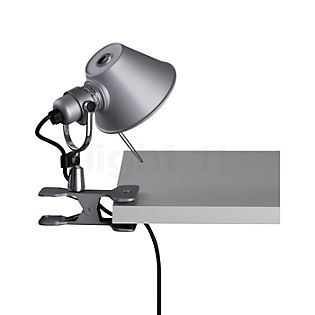 Artemide Tolomeo Micro Pinza LED polished and anodised aluminium, 3,000 K