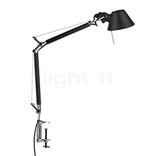 Artemide Tolomeo Micro with clamp black