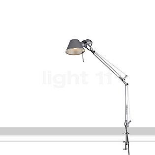 Artemide Tolomeo Mini LED with clamp polished and anodised aluminium, 3,000 K