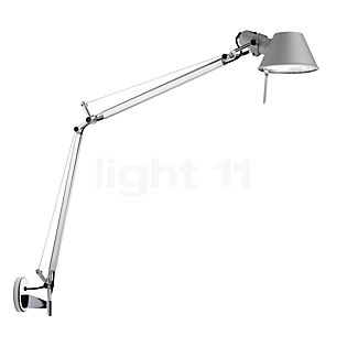 Artemide Tolomeo Parete, for direct mounting white