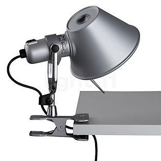 Artemide Tolomeo Pinza LED Aluminium poliert & eloxiert, 3.000 K