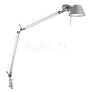 Artemide Tolomeo Tavolo with clamp polished and anodised aluminium