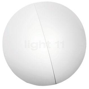 Axolight Nelly Decken-/Wandleuchte weiß, strukturiert, ø60 cm