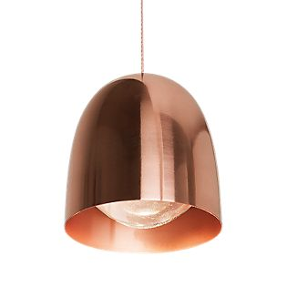 B.lux Speers Pendant Light LED black/copper, dimmable