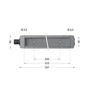 Bega 10455- Scatola da incasso per BEGA 3097 incolore - 10455
