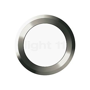 Bega 33882 - wandinbouwlamp LED roestvrij staal - 33882K3