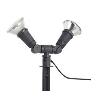 Bega 77942 - Dual Flood Light with Ground Spike graphite - 77942