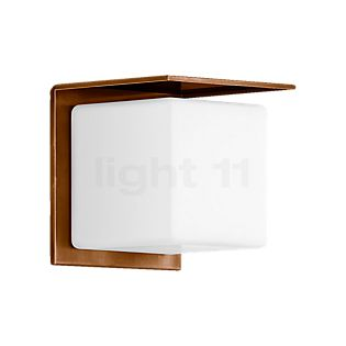Bega Cube-Shaped Wall Light with Copper Reflector 20 cm - 31311