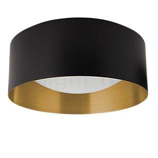 Bega Indoor Studio Line Plafonnier LED rond noir/laiton mat - 50174.4K3