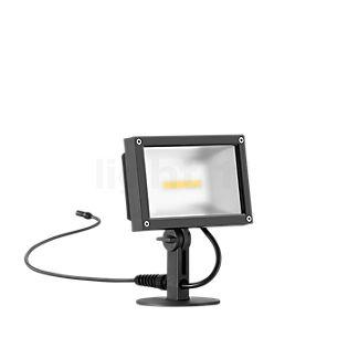 Bega Plug & Play 24364 - Proiettore LED con picchetto da interrare grafite - 24364K3 + 13566 incl. Smart Tower