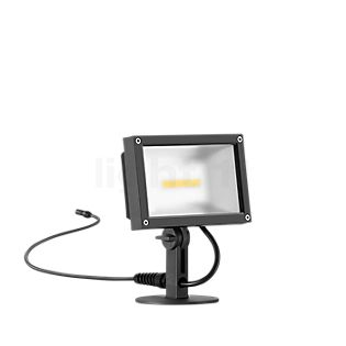 Bega Plug & Play 24364 - Scheinwerfer LED mit Erdspieß graphit - 24364K3 + 13566 inkl. Smart Tower