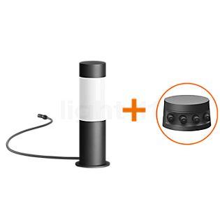 Bega Plug & Play 55008 - Bolderarmatuur LED met grondpen grafiet - 55008K3 + 13566