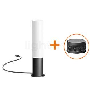 Bega Plug & Play 55018 - Bolderarmatuur LED met grondpen grafiet - 55018K3 + 13566 incl. Smart Tower