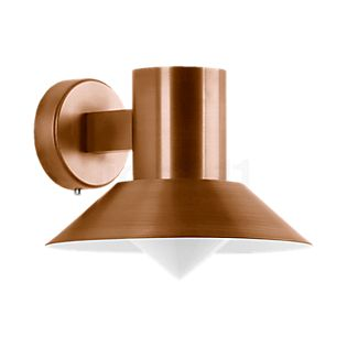 Bega Wall Light with Copper Lampshade, shielded LED 4.5 W - 31058K3
