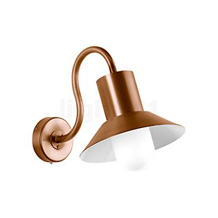 Bega Wall Light with Lampshade LED copper/4,5 W - 31004K3
