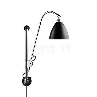 Bestlite BL5 Lampada da parete cromo nero con interruttore