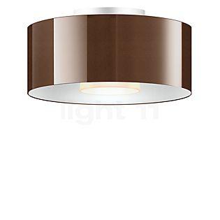 Bruck Cantara Glas 300 Down Lampada da soffitto LED bronzo/bianco