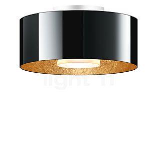 Bruck Cantara Lampada da soffitto LED - ø30 cm nero/dorato