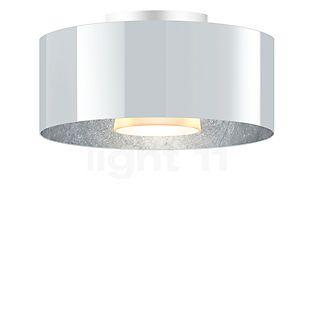 Bruck Cantara Plafonnier LED - ø30 cm blanc/argenté