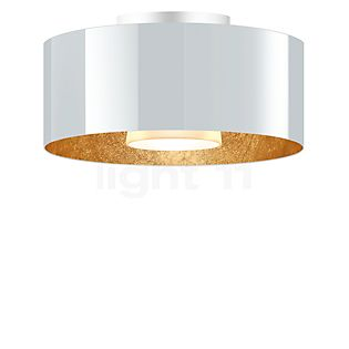 Bruck Cantara Plafonnier LED dim2warm - ø30 cm blanc/doré