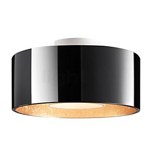 Bruck Cantara, lámpara de techo LED - ø30 cm blanco/dorado