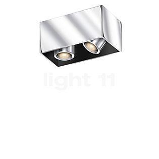 Bruck Cranny Spot 2-flammig LED Chrom glänzend