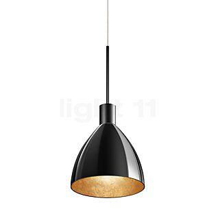 Bruck Silva Neo 160 Down Pendelleuchte LED AC, Schwarz schwarz/gold