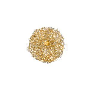 Catellani & Smith Fil de Fer Ovale Parete/Soffitto Gold, ø45 cm